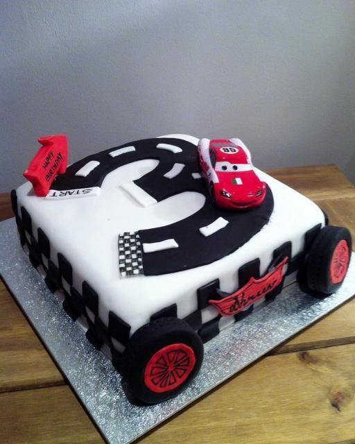 Lightning Mcqueen Car Cake Design