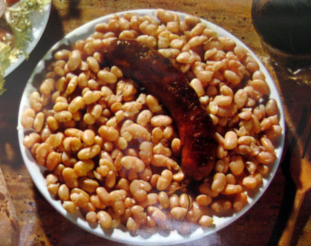 Butifarra con alubias - Solo Recetas, el blog de las recetas gratis, recetas de cocina, recetas de la abuela y recetas de chef