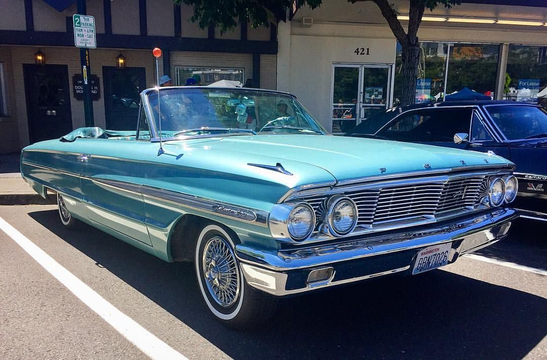 1964 Ford Galaxie 500xl Convertible Seattle Car Guy On Instagram