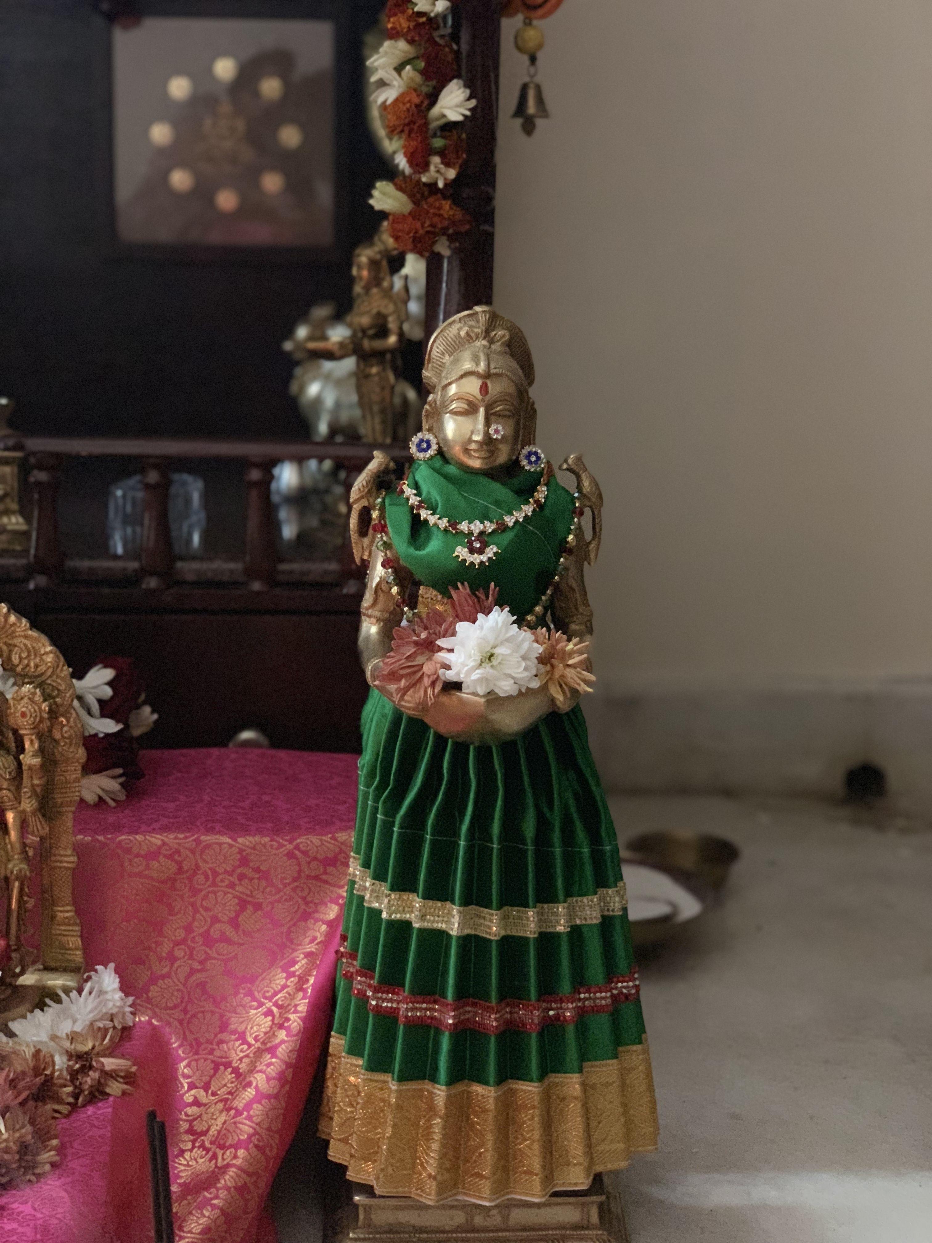 Pin by Penumatsa Neelu on Puja decorations | Traditional ...