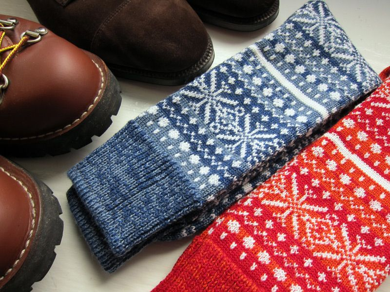have the perfect yarn to knit socks like these - create my own ...
