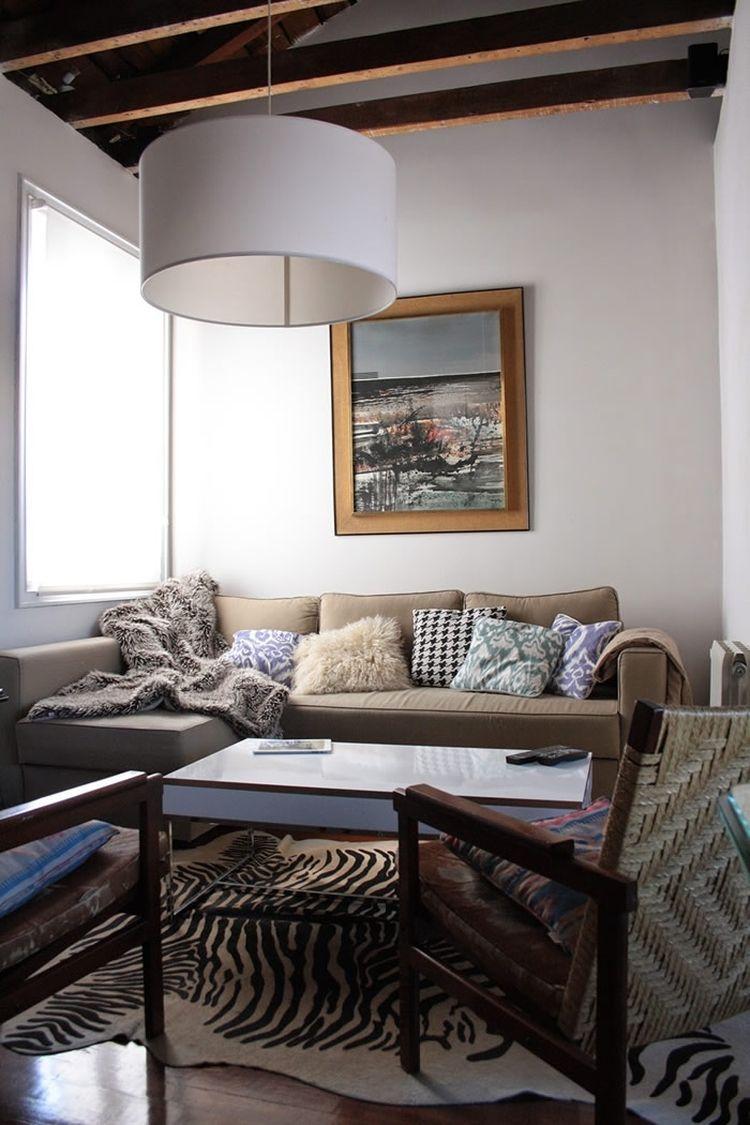 salón con decoración low cost y vintage   Ikea   Pinterest ...