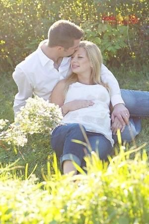 Maternity Picture Ideas With Husband