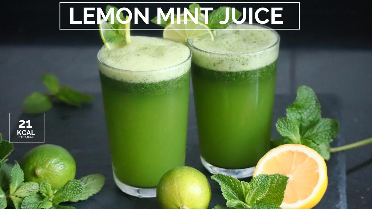 Lemon Mint Juice Lemonade Recipe Lemon Mint Juice Lemon Mint Lemonade Recipes