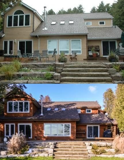 Infinity fine homes inc renovated this home in balsam lake infinity fine homes inc also used gentek vented soffit gentek fascia and a gentek patio door planetlyrics Gallery