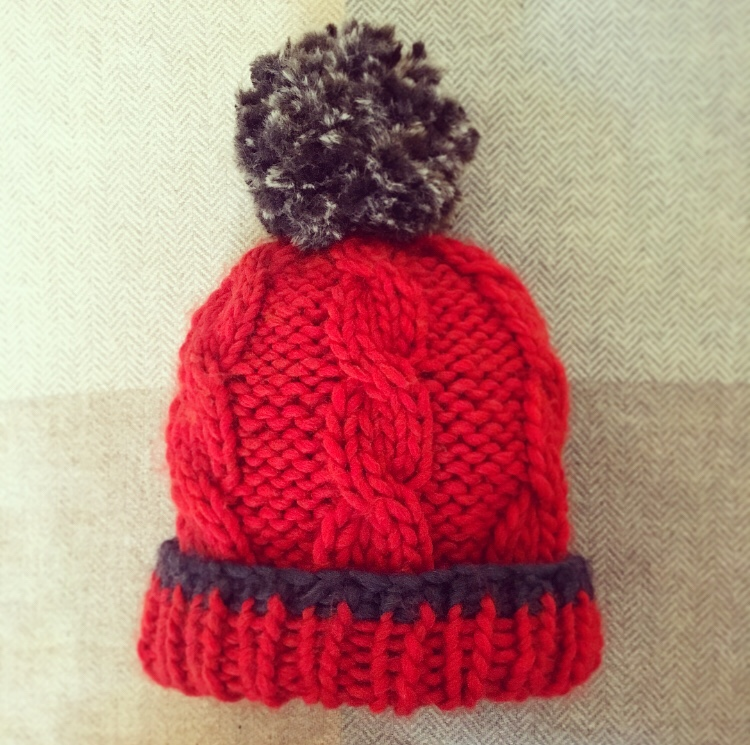 The McEwan Beanie - chunky cable-knit bobble hat, knit ...