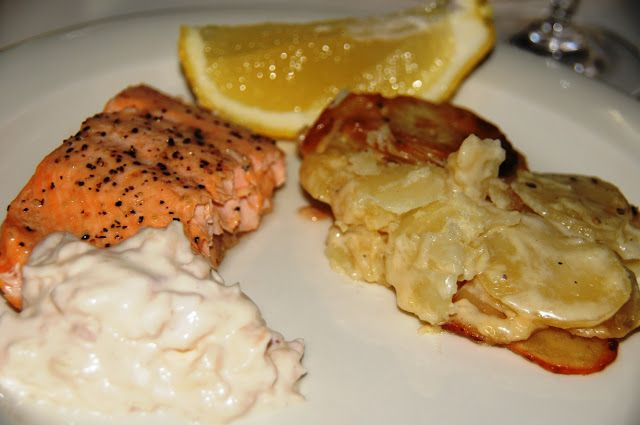 Terhin keittiössä - ruokablogi: Omena-aiolia ja nieriää