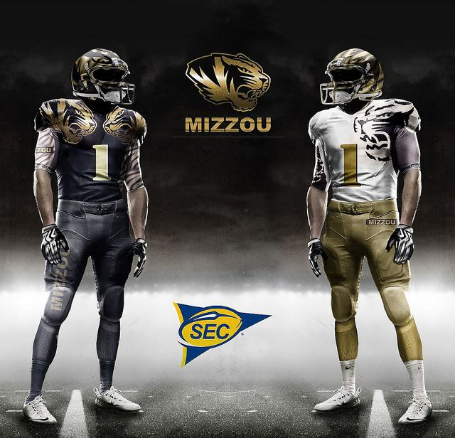eafae735b Mizzou football  lt 3 Football Uniforms