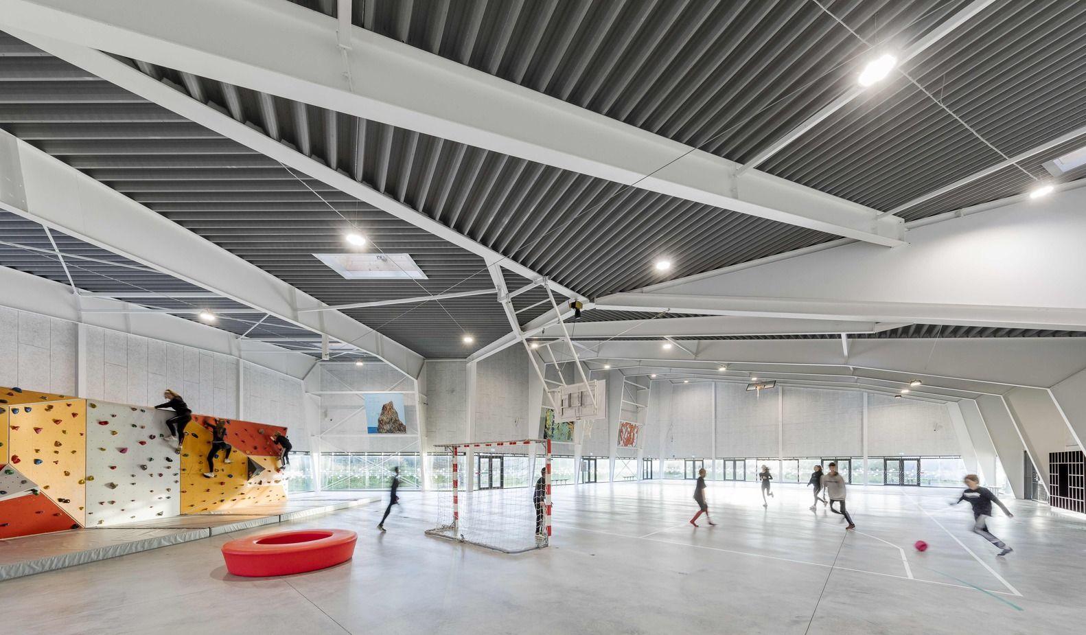 Gallery Of Multi Purpose Sports Facility In Orestad City Nord Architects 10 Architect Space Architecture City Design