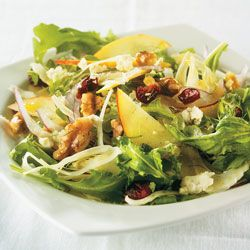 Apple and Fennel Salad With Cranberries and Walnuts