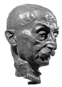 Arno Breker, sculpture of the painter Max Liebermann, 1934