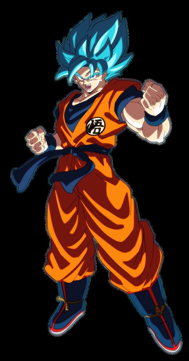 Goku Ssj Blue Dragon Ball Super Broly By Andrewdb13 On Deviantart Anime Dragon Ball Super Dragon Ball Goku