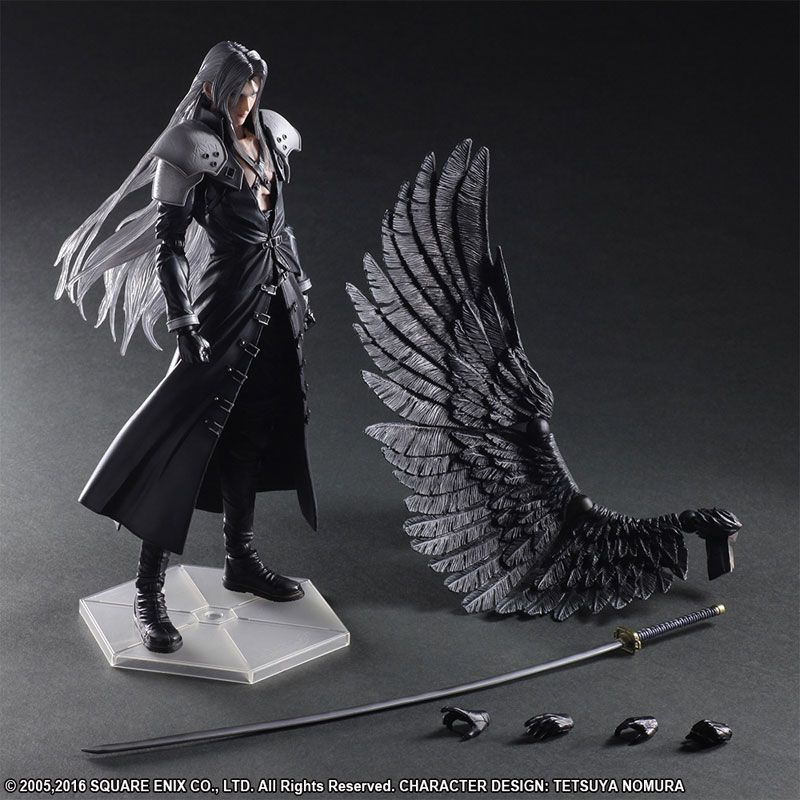 Click To Buy U003cu003c Paly Arts Kai Final Fantasy VII 7 Sephiroth PVC