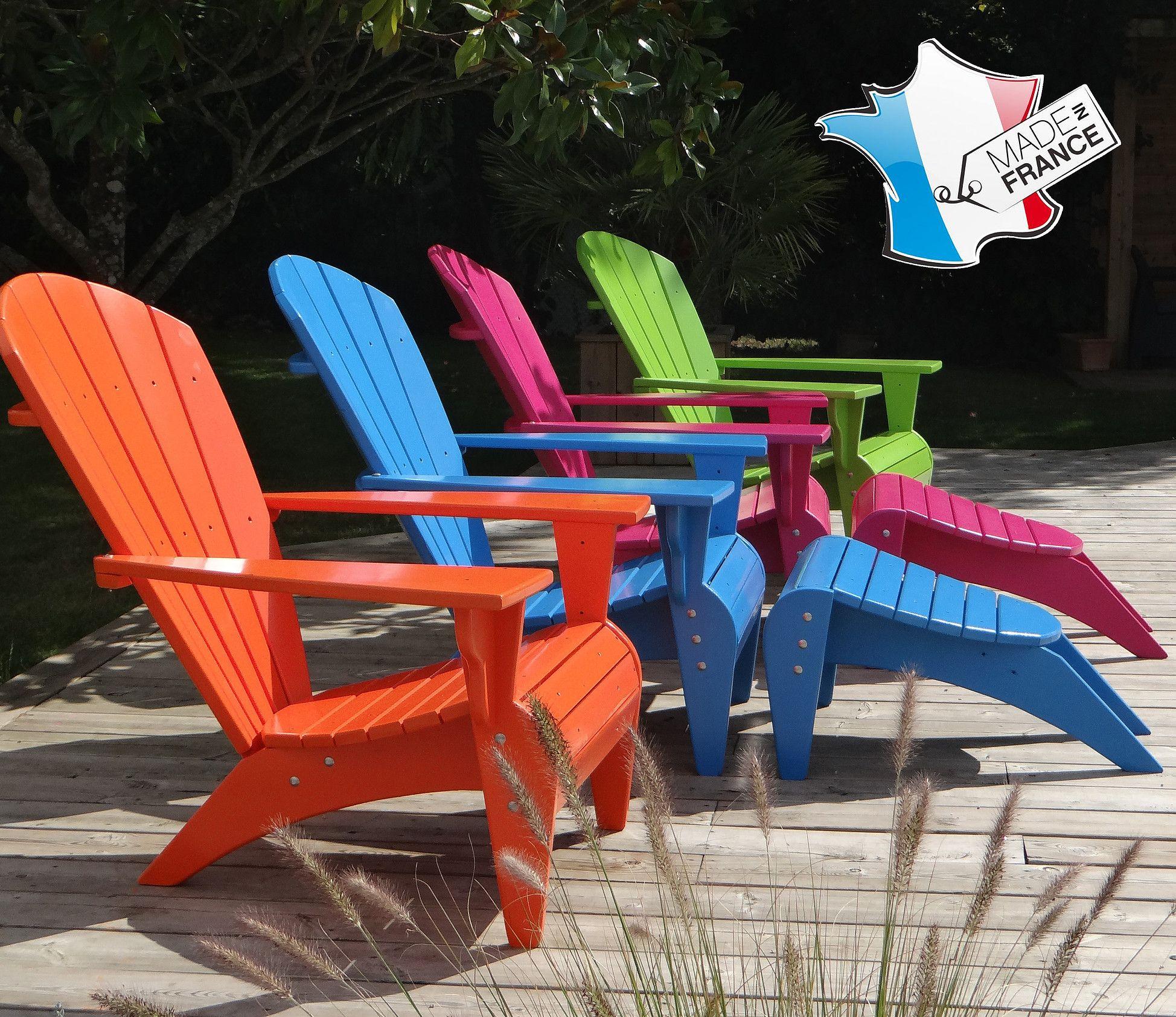 """Coussin Pour Fauteuil Adirondack le fauteuil adirondack """"verneuil"""" - artisanal & fabriqué en"""