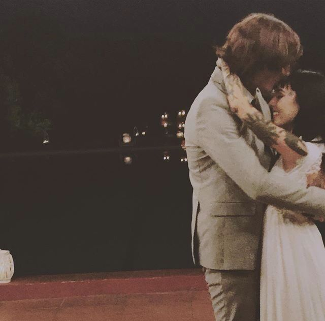 Hannah And Oliver Sykes, Wedding