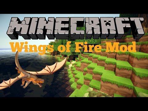 minecraft wings of fire mod showcase