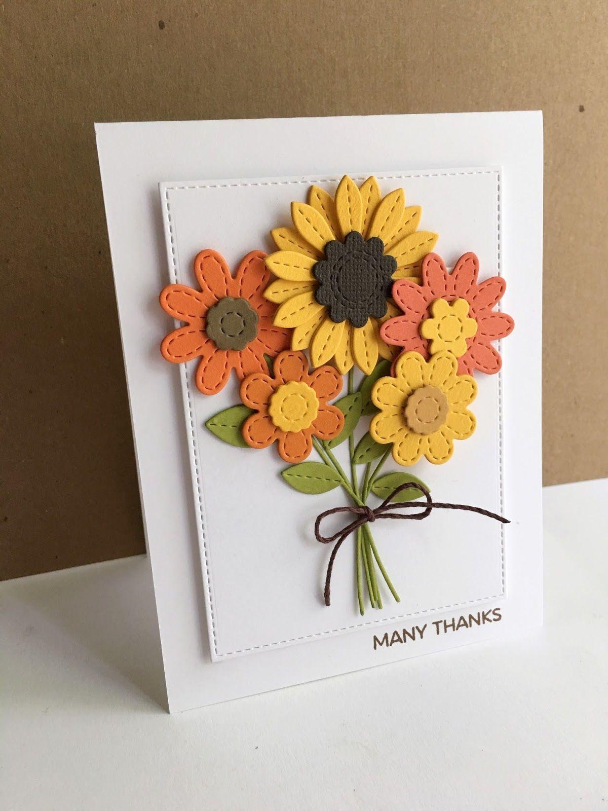 Осенние открытки своими руками на день рождения