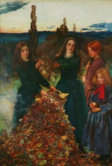 Autumn Leaves by John Everett Millais,1856.