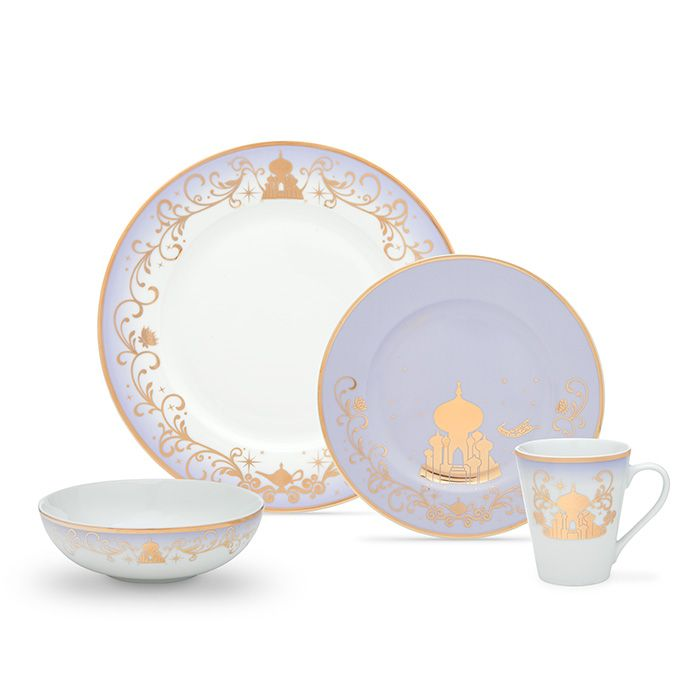 Disney Princess 16 Piece Dinner Set #disneykitchen