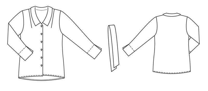 3f6dae21cca Блуза - выкройка № 137 B из журнала 8 2013 Burda – выкройки блузок ...