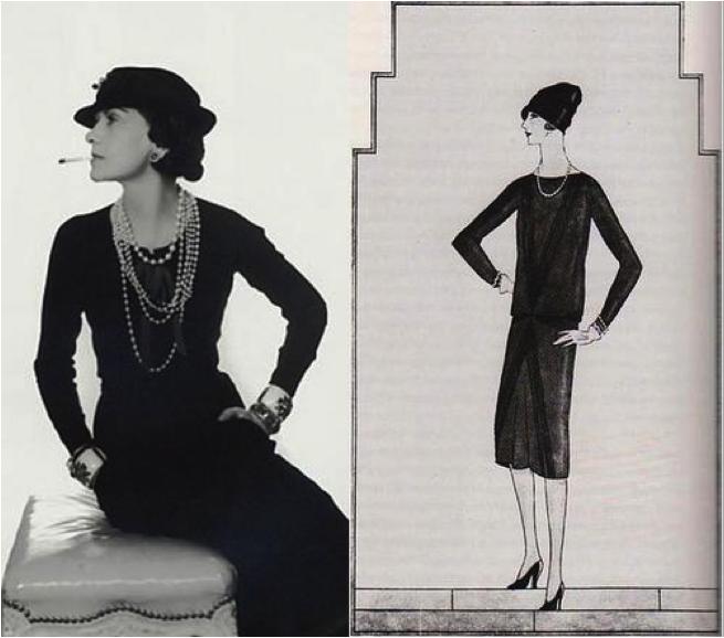 1844044e90f Art Deco Fashion - Coco Chanel s classic LBD