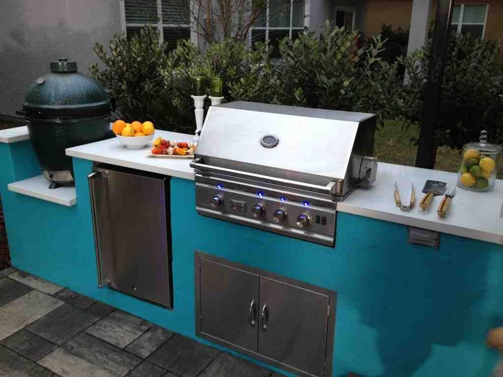 Outdoor Kitchen Cabinets Polymer Stainless Steel Doors For