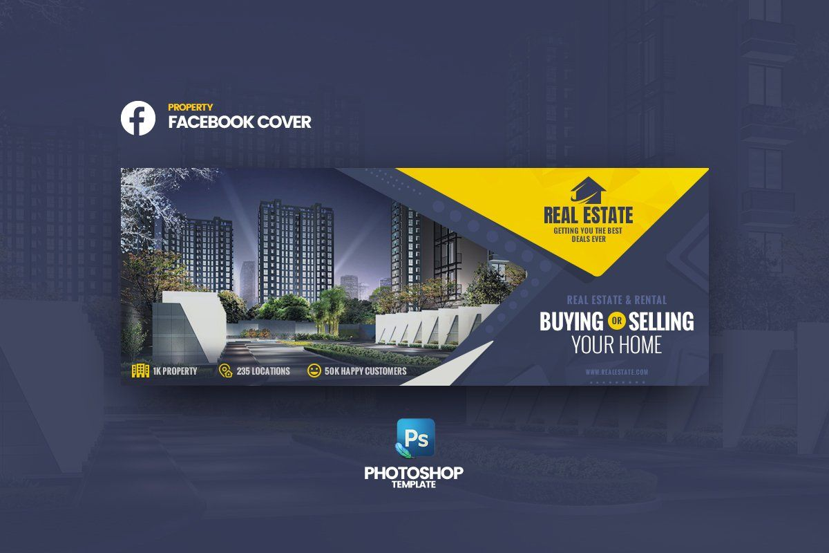 Real Estate Fb Cover Template Facebook Cover Design Facebook Cover Template Real Estate Banner