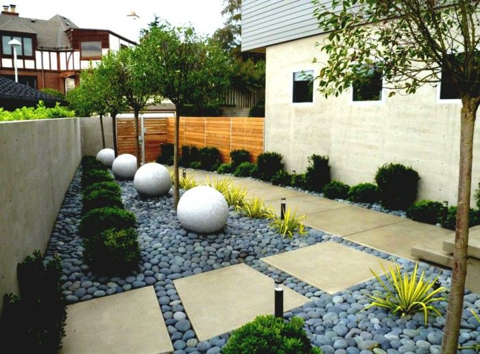Creating gravel garden front garden design ideas