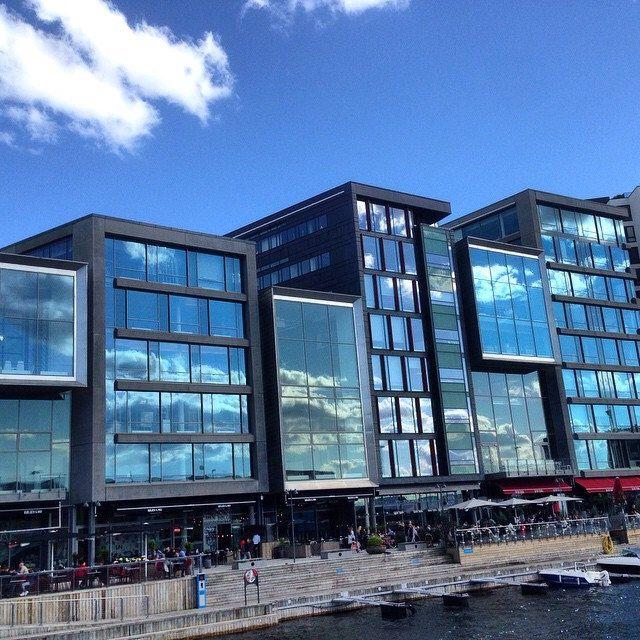 Moderne Arkitektur Pa Tjuvholmen Modern Architecture Moderne