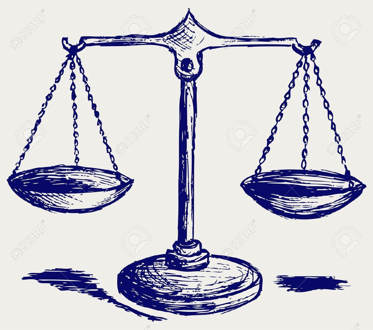 15831730scalesketchstockvectorjusticebalancescale