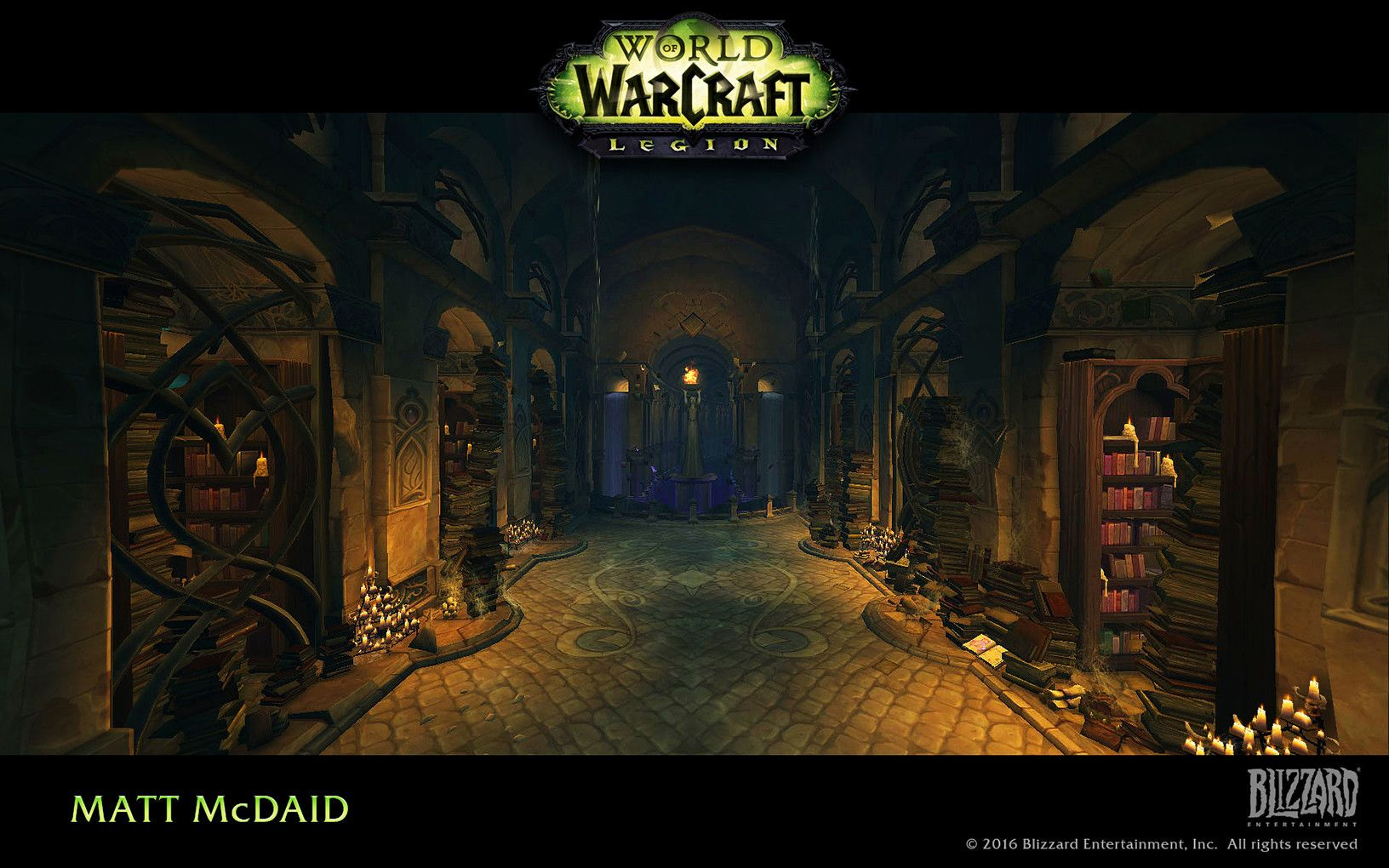 ArtStation - 월드 오브 워크래프트 : Legion, Matt McDaid