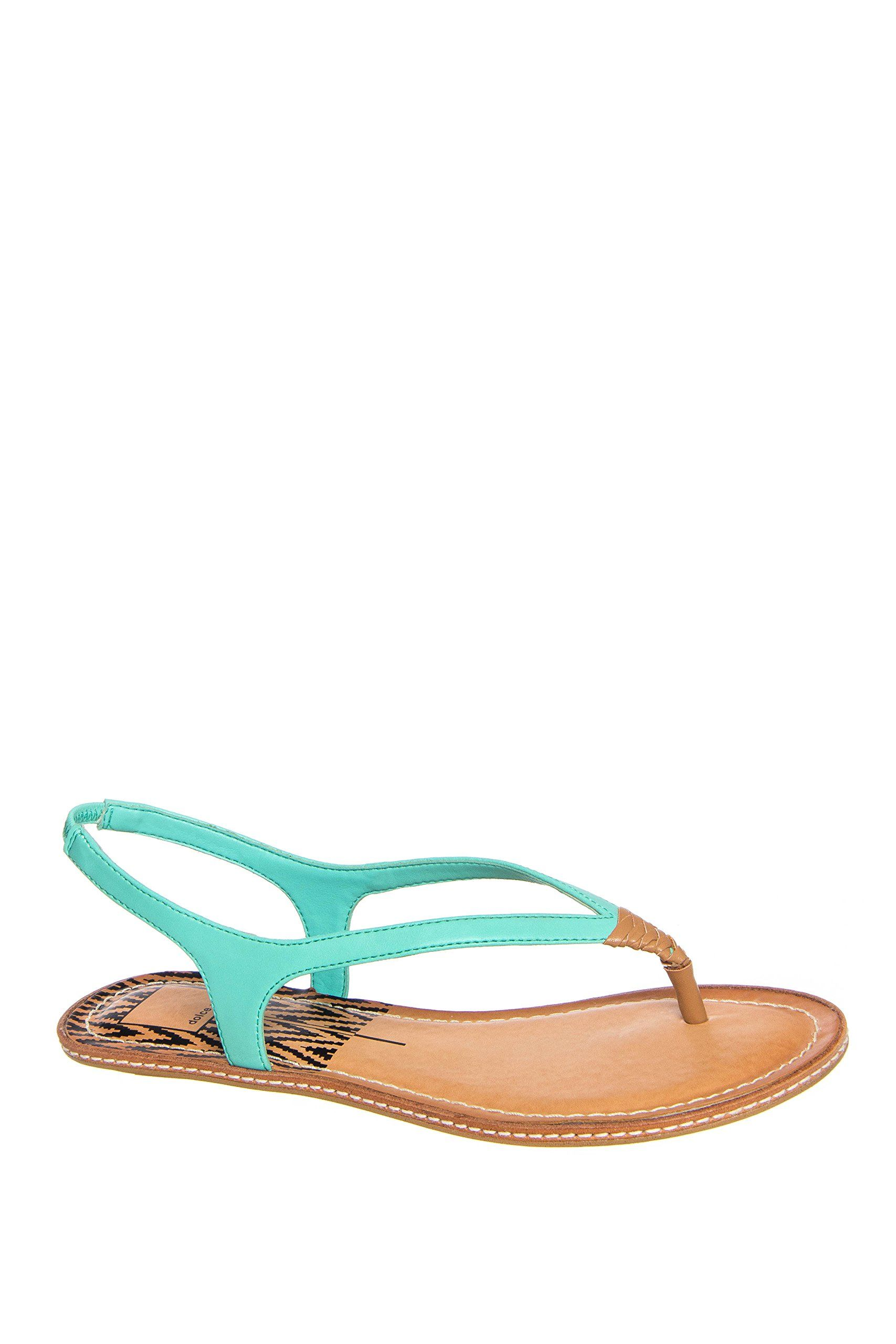 005d127063920 Dolce Vita Kay Thong Flat Sandal. Leather upper. Buckle closure. Barely  there style