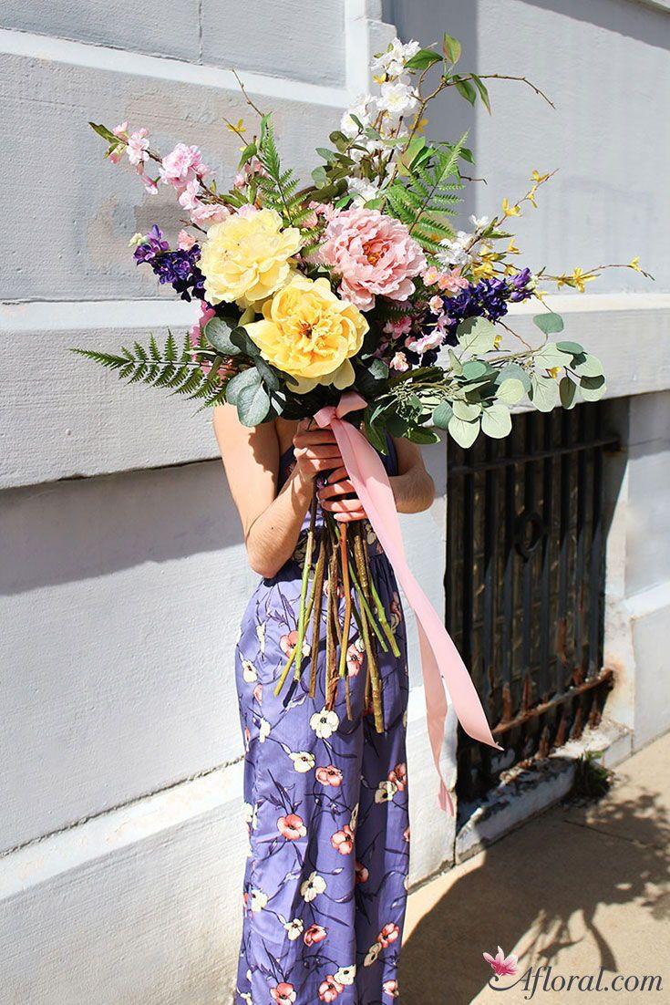 Find Spring Silk Flowers At Afloral Pinterest