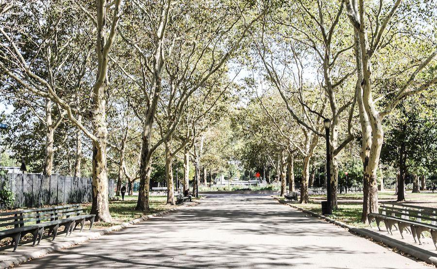Un parc très agréable pour se promener dans le Queens.