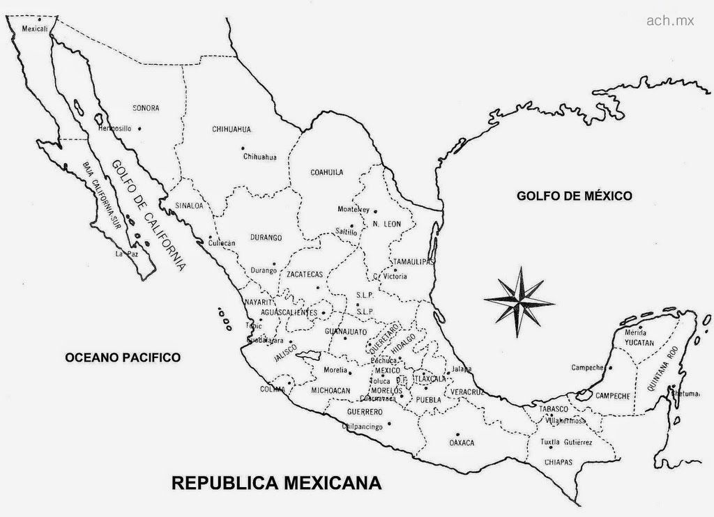 Descargar Coleccion de Mapas de Mexico para Imprimir PDF ...