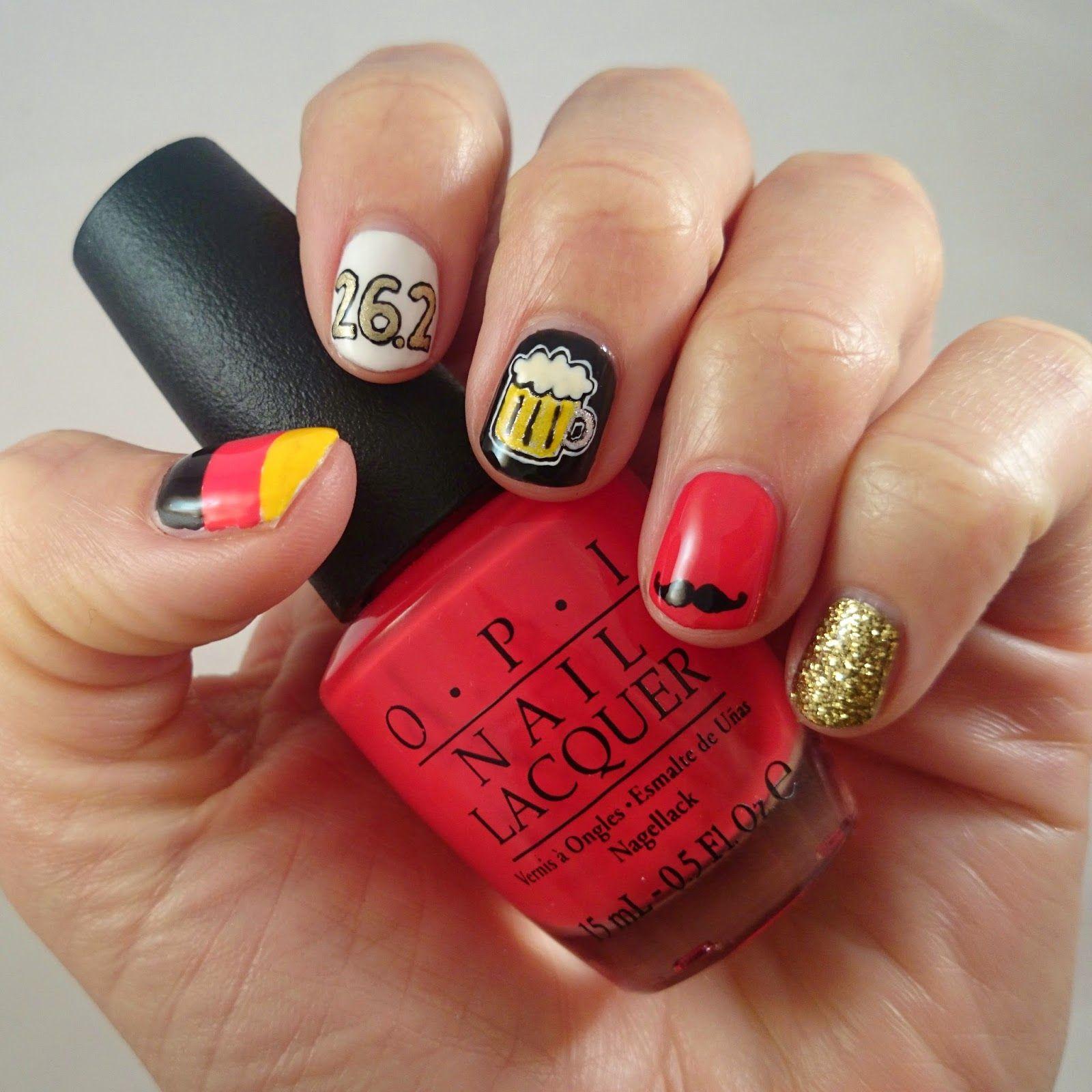 Berlin Marathon Nail Art | Nail Can Do | Pinterest | Marathons and ...
