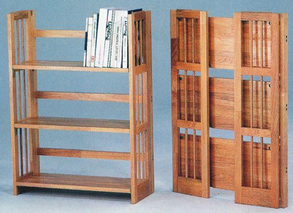 folding bookshelf read about types of bookshelves in our article httpfinoak - Folding Bookshelves