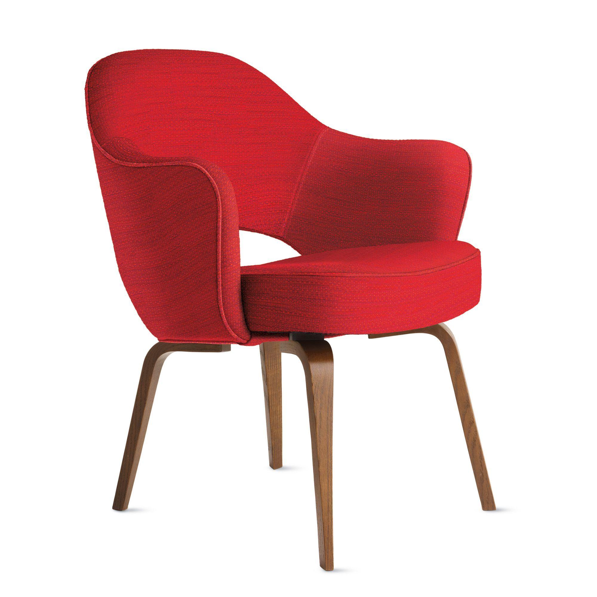 Saarinen Executive Armchair with Wood Legs | Wood legs ...