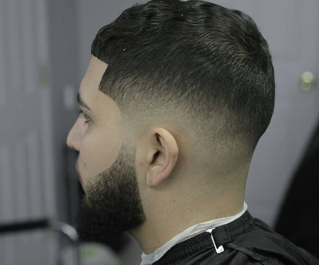 Fade Hairstyles With Beard Low Fade Haircut With Beard Bald Fade