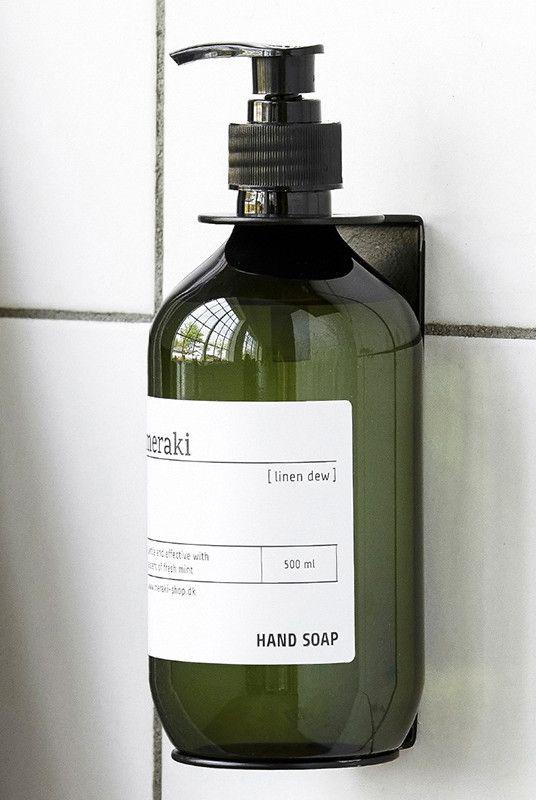 Buy Meraki - Soap Dispenser Holder - Black - NoteMaker