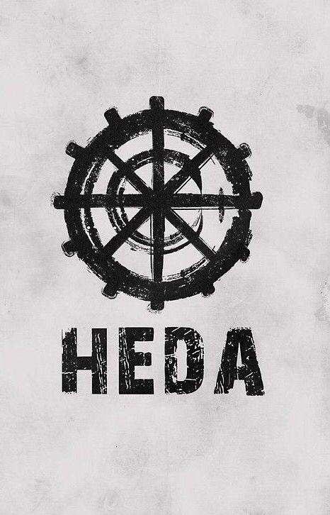 The 100 Heda Symbol Black iphone case