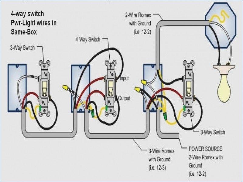 4 Wire Schematic Wiring For