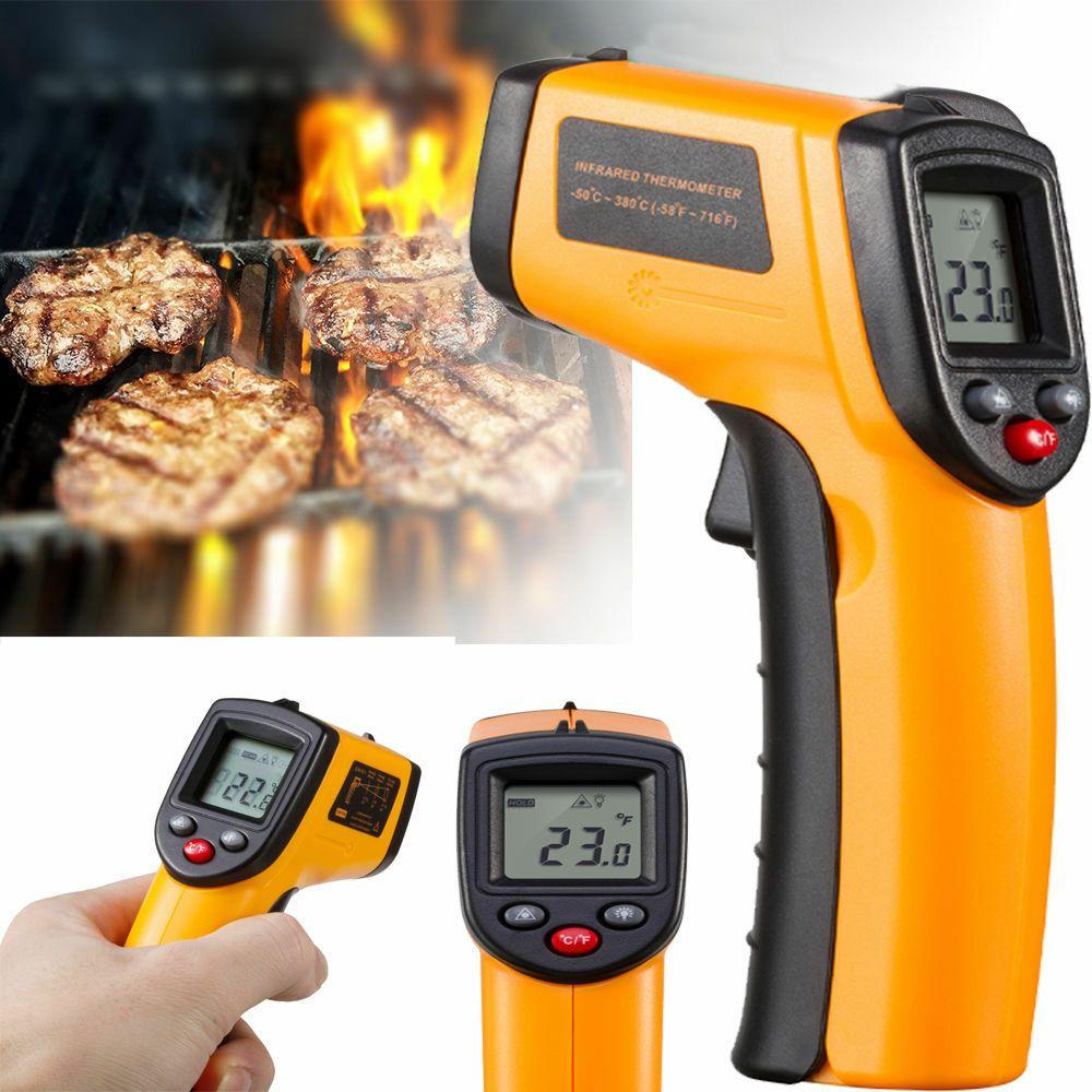 New Temperature Grill Tool Digital Laser IR Infrared Thermometer Gun Temp Meter