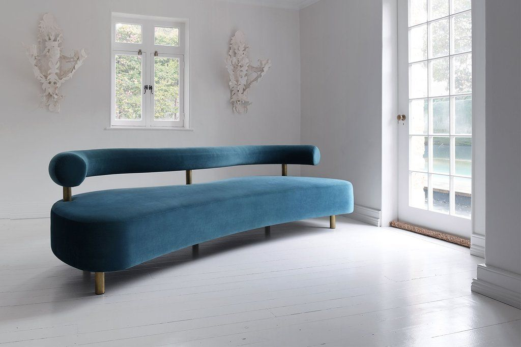 A Distinct And Very Unique Sofa. The Kiss Sofau0027s Striking Organic Shape,  Designed By