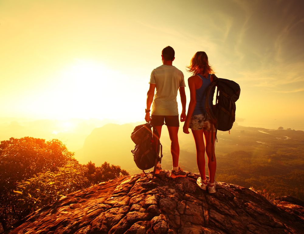 Where was the last place you hiked? Do you like to hike alone or in a group?