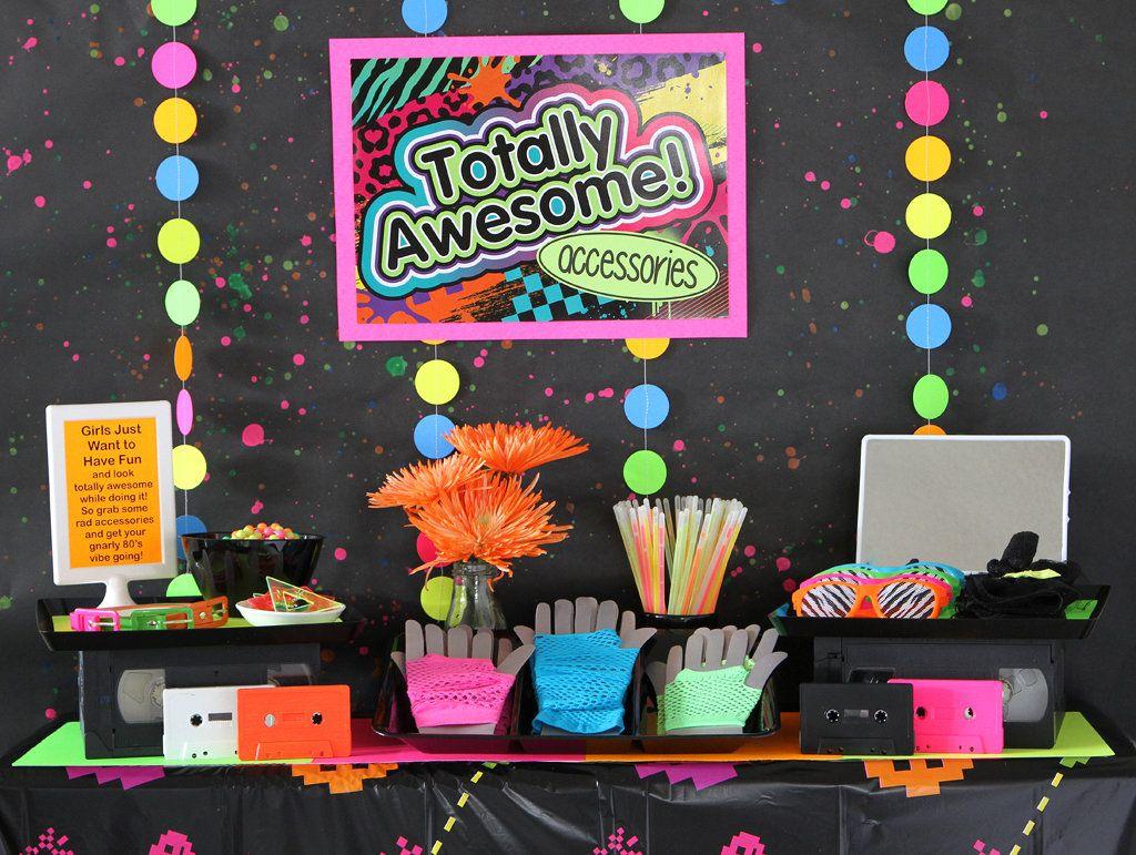 80s Party Activities Birthday