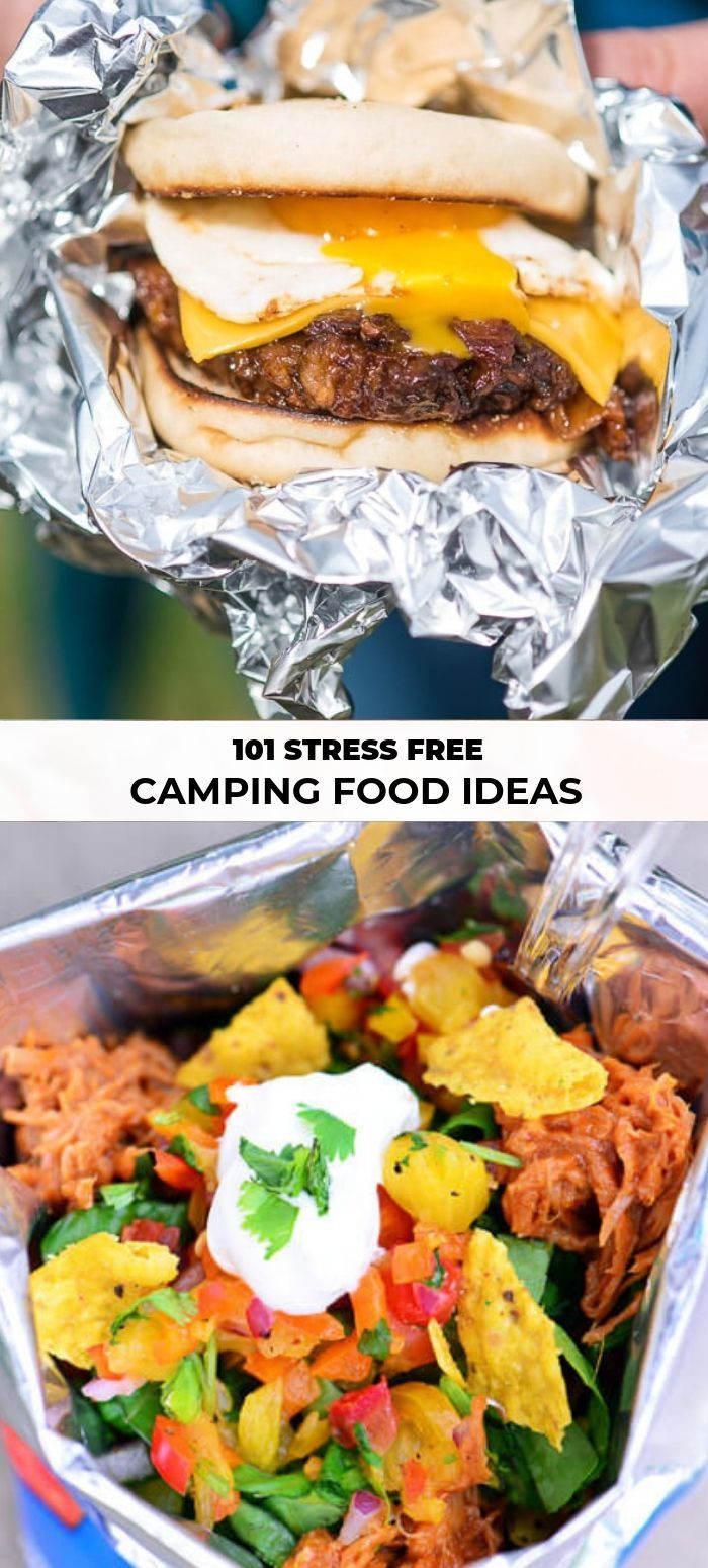 101 Stress Free Camping Food Ideas images