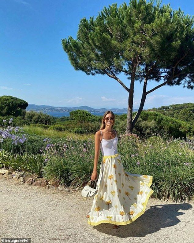Princess Olympia of Greece enjoys her summer in the Greek isles