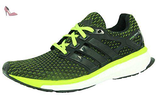 official photos 3642f d8602 Adidas ENERGY BOOST REVEAL Chaussures de Course Running Homme Vert - Chaussures  adidas (Partner