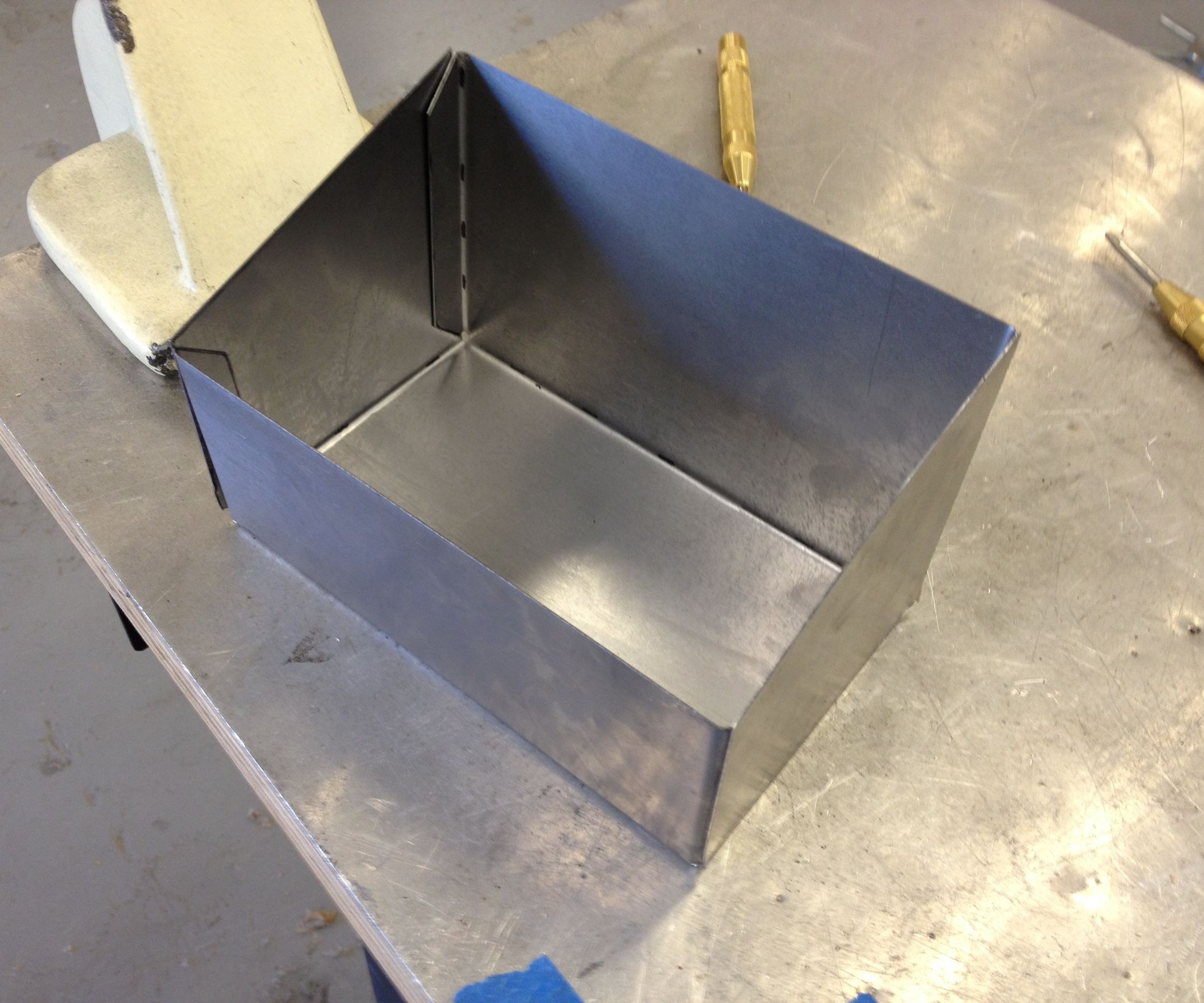 How To Make A Sheet Metal Box Cardboard Paper Sheet